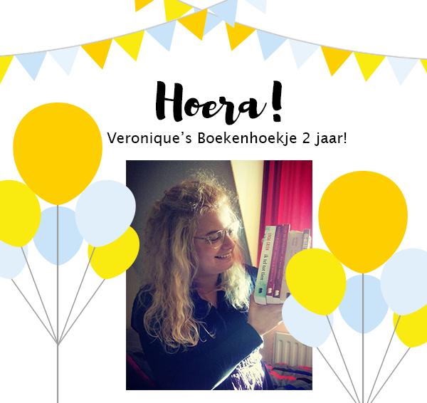 Veronique's Boekenhoekje bestaat 2 jaar!