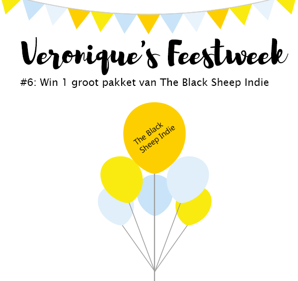 (Gesloten) Veronique's Feestweek #6: Win 1 groot pakket van The Black Sheep Indie!