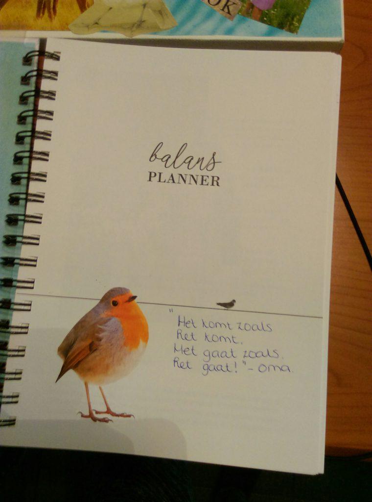 Werken in de planner