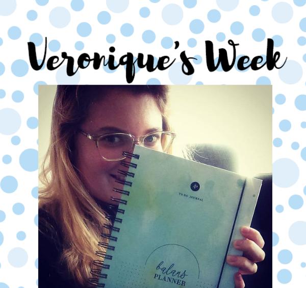 Veronique's Week #20: Mijn nieuwe planner!