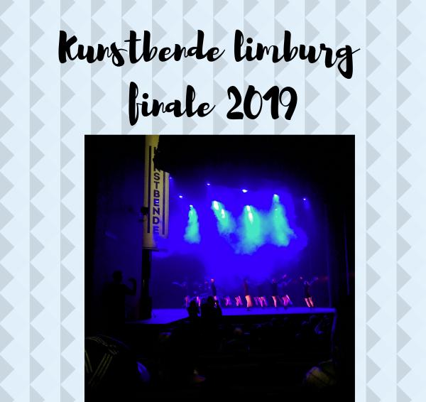 Plog: Kunstbende Limburg finale 2019