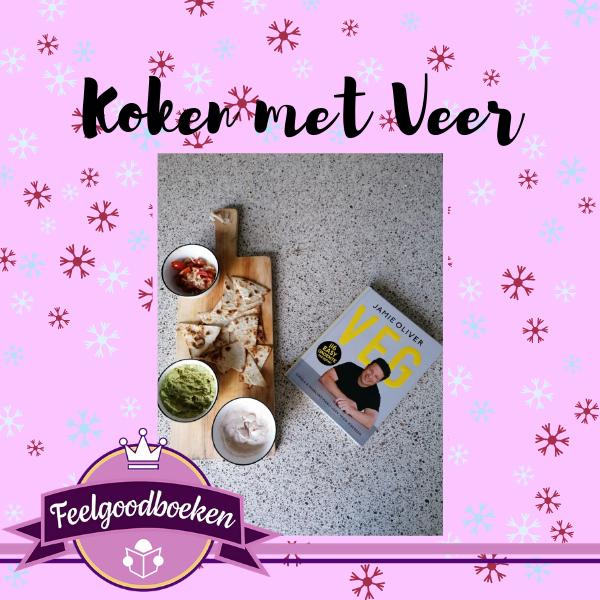 Koken met Veer. Tortillachips van Jamie oliver uit het kookboek VEG