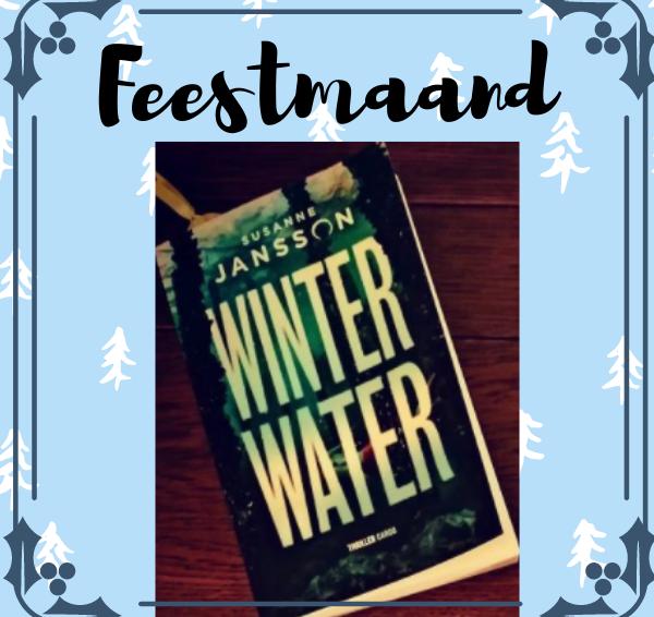 Veronique's Boekenhoekje Feestmaand #1: Winactie 3x Winterwater van Susanne Jansson