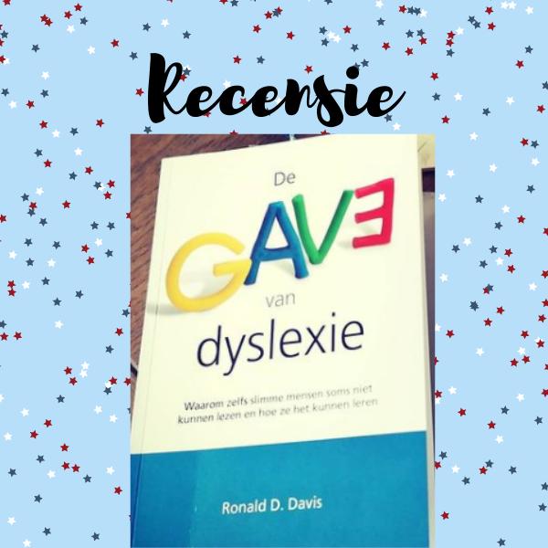 De gave van dyslexie recensie ronald d. davis