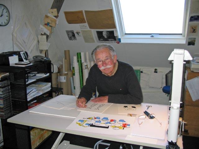 Dick Bruna (1927-2017)~ Ode aan vader Nijn