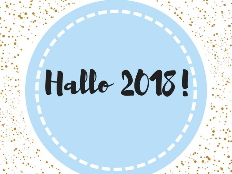 Hallo 2018!