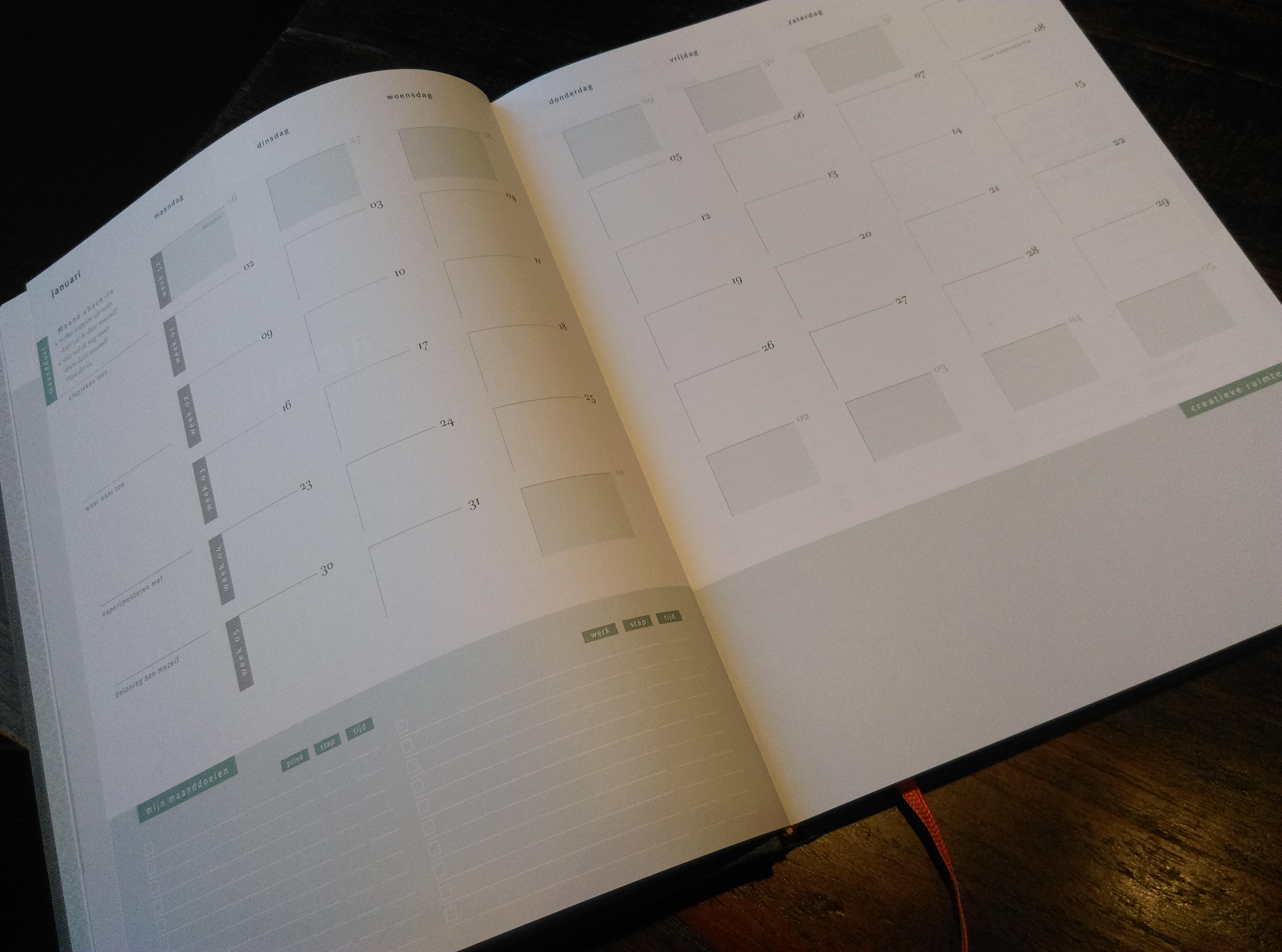 Maandplanning