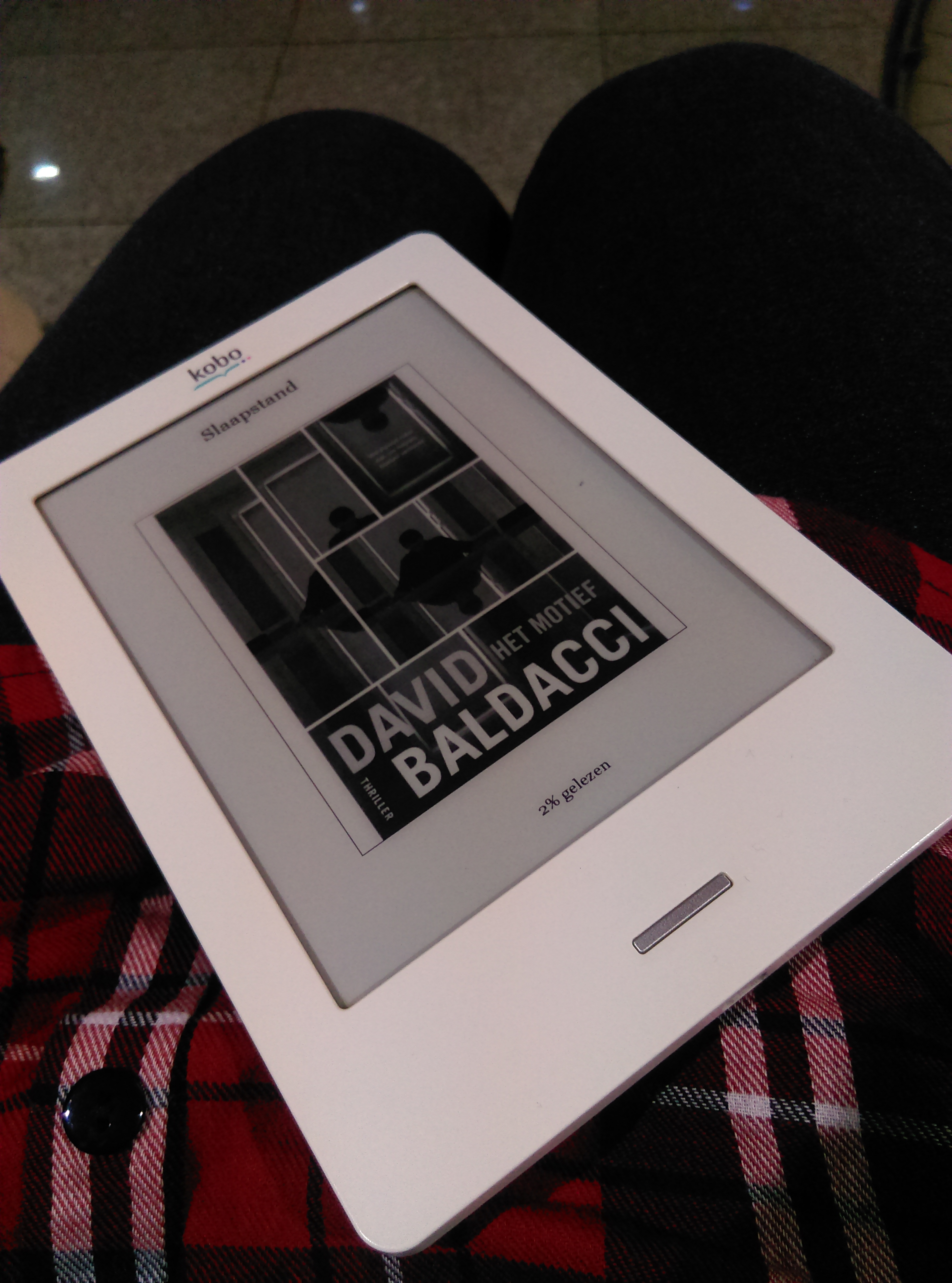 Cover Het motief - David Baldacci