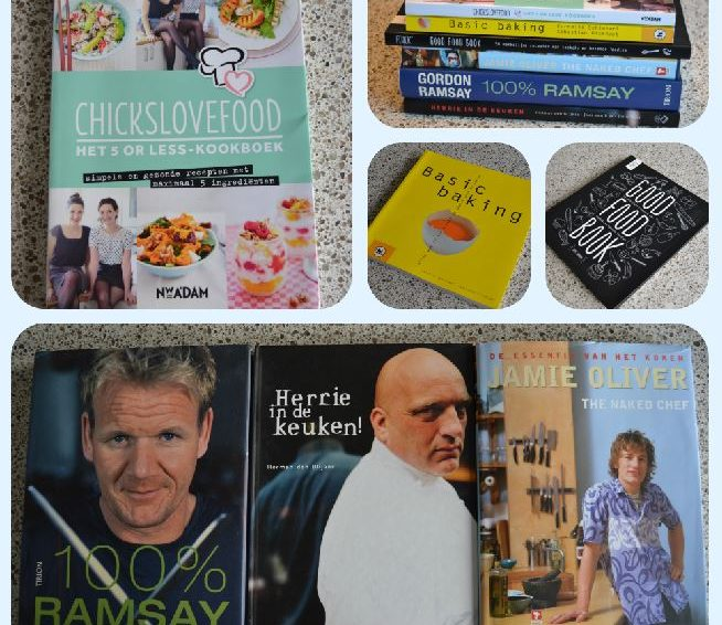 Soorten #1: Kookboeken