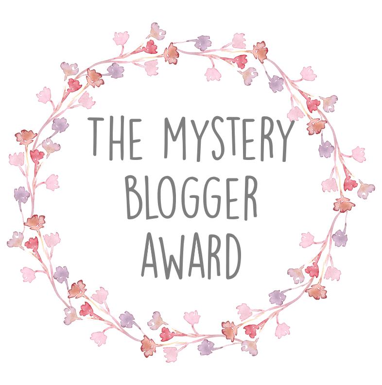 The mysterie blogger award logo