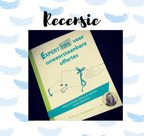 Recensie: Experttips voor onweerstaanbare offertes – Natasja Hoogenboom