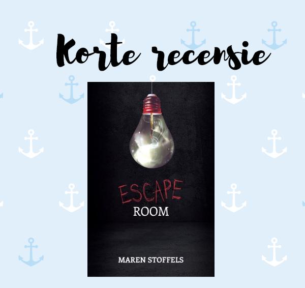 Korte recensie: Escape Room – Maren Stoffels