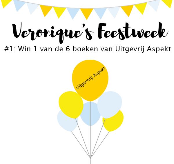 (Gesloten) Veronique's Feestweek #1: Win 1 van de 6 boeken – Uitgeverij Aspekt