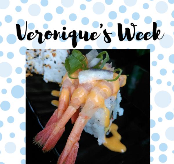 Veronique's Week #37: Sushi en nieuwe jurkjes