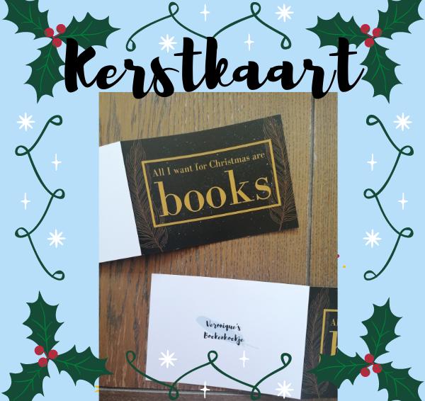 Veronique's Boekenhoekje Kerstkaart!