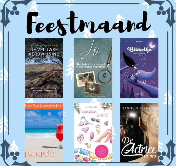 Veronique's Boekenhoekje Feestmaand #5: Win Selfpublishers E-Boekenpakket