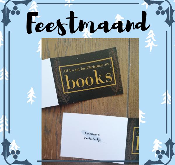 Veronique's Boekenhoekje Feestmaand #2: Winactie 5x mijn kerstkaart