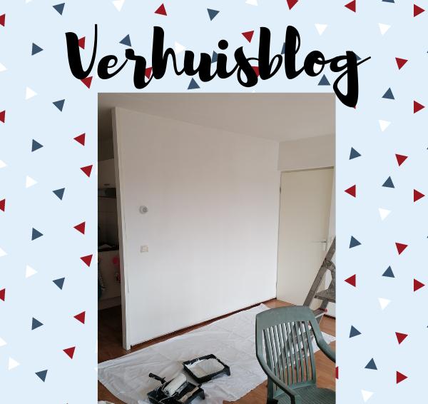 Verhuisblog 2: Inpakken, de sleutels en het grote verfavontuur