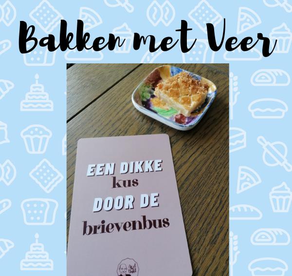 Bakken met Veer: Brievenbus boterkoek van Abel Bakt