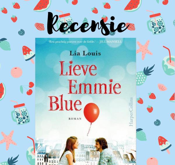 Recensie: Lieve Emmy Blue – Lia Louis