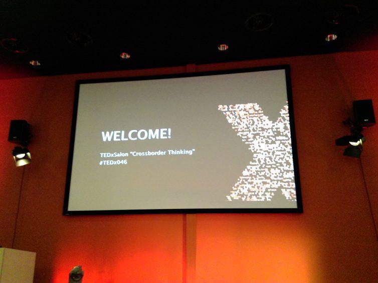 """Mijn TED Talk en TEDxSalon: """"Crossborder Thinking"""""""