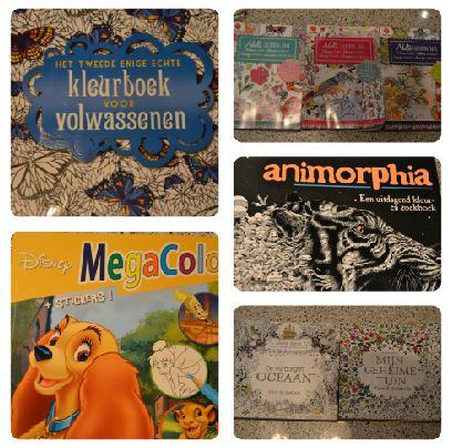 Soorten #2: Kleurboeken
